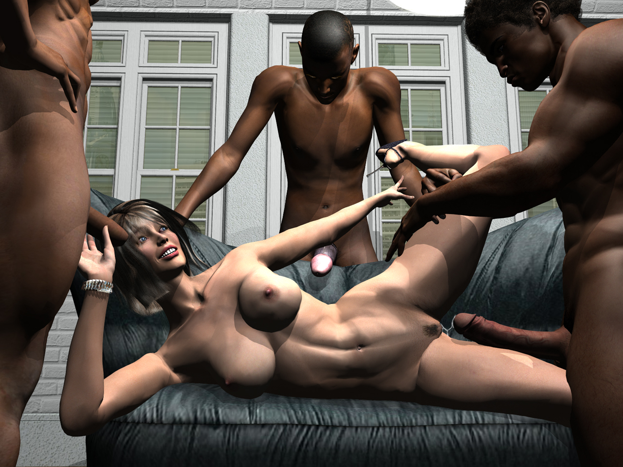 girl beautiful 3d fuck